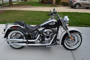 My 2012 Harley Davidson Softail Deluxe