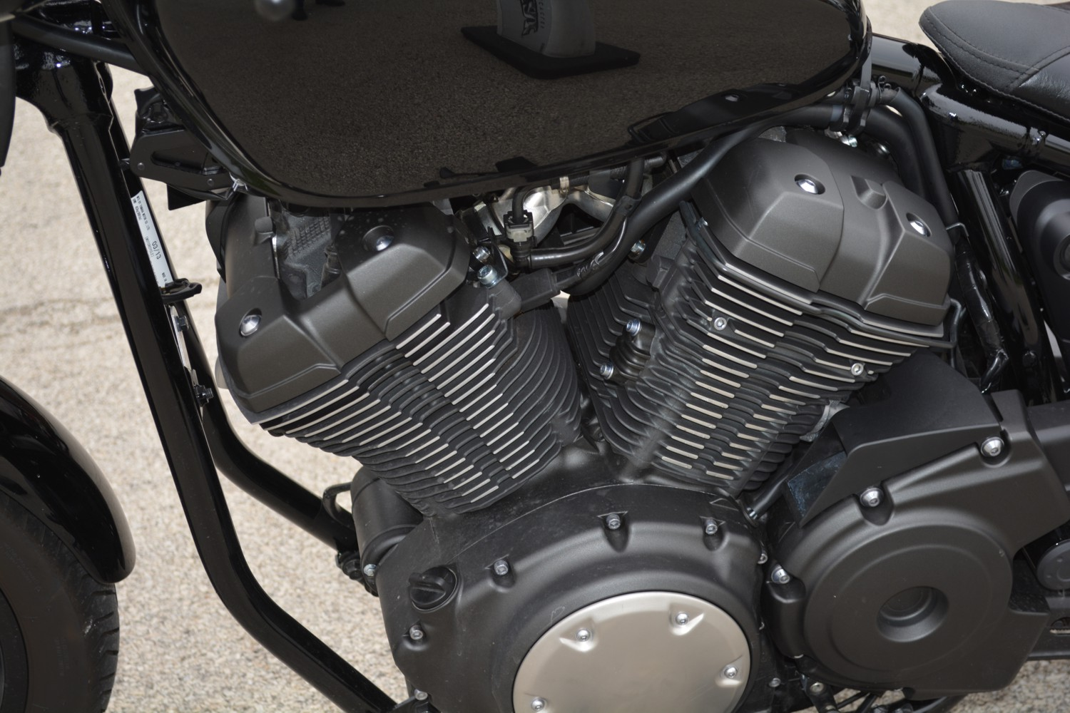 2014 Yamaha Bolt Demo Ride Gear Box Of Motorcycle The V Twin Engine Is Most Important Component Any Cruiser Knows That So They Bolted One In Im Funny
