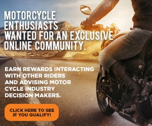 Motorcycle enthusiasts are wanted for an exclusive online community. That means you!!